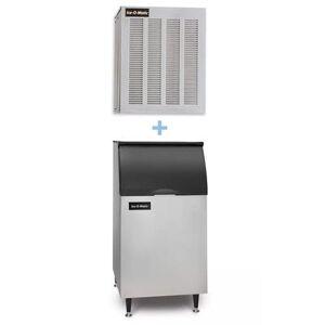 Ice-O-Matic GEM0956A/B42PS 1053 lb Nugget Ice Maker w/ Bin - 351 lb Storage, Air Cooled, 208-230v/1ph