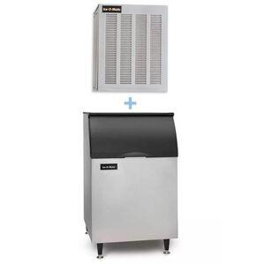 Ice-O-Matic GEM0956A/B55PS 1053 lb Nugget Ice Maker w/ Bin - 510 lb Storage, Air Cooled, 208-230v/1ph