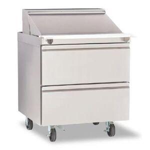 "Delfield ""Delfield D4432NP-12M 32"""" Sandwich/Salad Prep Table w/ Refrigerated Base, 115v"""