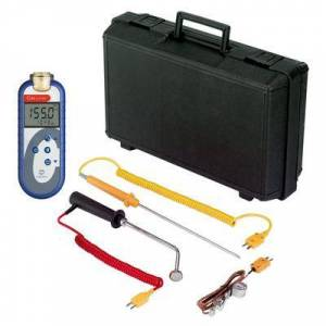 Comark C48/P14 Food Thermometer Kit w/ (3) Probes - Type K