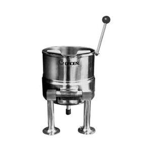 Groen TDC/3-6 1 1/2 gal Steam Kettle - Manual Tilt, 2/3 Jacket, Direct Steam
