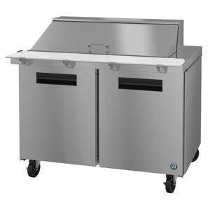 "Hoshizaki ""Hoshizaki SR48A-18M SteelHeart 48"""" Sandwich/Salad Prep Table w/ Refrigerated Base, 115v"""