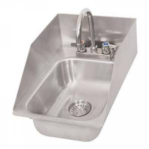 "Splash ""Splash DIS-GF-SS-10-14-5 (1) Compartment Drop-in Sink - 10"""" x 14"""", Drain Included"""