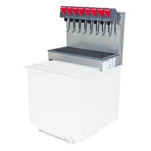 Lancer 85-2378T-111 Drop In Ice Cooled Soft Drink Dispenser - 100 lb Capacity, Cup Fill, 115v