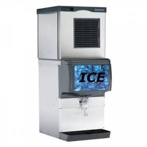 Scotsman NS0622A-1/ID150B-1/KBT42 643 lb Prodigy Plus? Nugget Ice Maker w/ Ice Dispenser - 150 lb Storage, Cup Fill, 115v