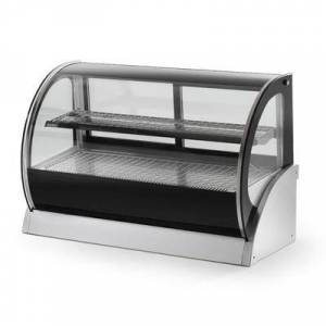 """Vollrath """"Vollrath 40854 59"""""""" Full Service Refrigerated Display Case w/ Curved Glass - (2) Levels, 120v"""""""