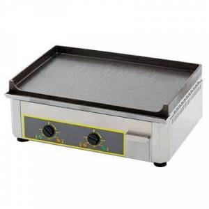"""Equipex """"Equipex PSE-600/1 24"""""""" Electric Griddle w/ Thermostatic Controls - 1"""""""" Cast Iron Plate, 120v"""""""