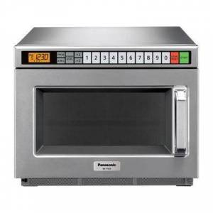 Panasonic NE-12521 1200w Commercial Microwave with Touch Pad, 120v