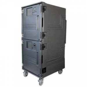 Cambro PCUHC615 Pro Cart Ultra? Hot/Cold Insulated Food Carrier w/ (16) Pan Capacity, Gray