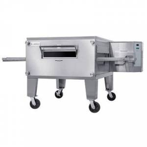 """Lincoln """"Lincoln 3240-2N 78"""""""" Impinger Double Conveyor Oven - Natural Gas"""""""