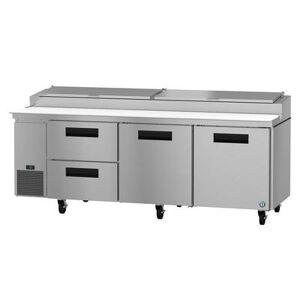 "Hoshizaki ""Hoshizaki PR93A-D2 SteelHeart 93"""" Pizza Prep Table w/ Refrigerated Base, 115v"""