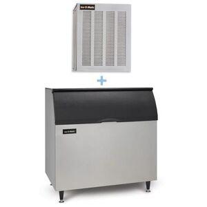 Ice-O-Matic GEM0956A/B110PS 1053 lb Nugget Ice Maker w/ Bin - 854 lb Storage, Air Cooled, 208-230v/1ph