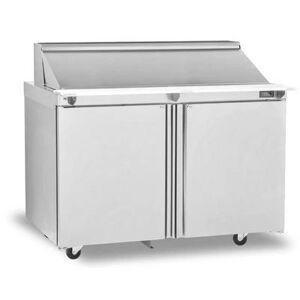 "Delfield ""Delfield 4448NP-18M 48"""" Sandwich/Salad Prep Table w/ Refrigerated Base, 115v"""