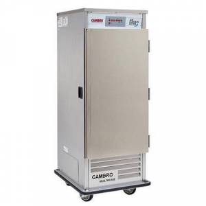 """Cambro """"Cambro ACU1826LS000 32"""""""" One Section Air Curtain Refrigerator w/ Left Hinge Sliding Door, 120v"""""""