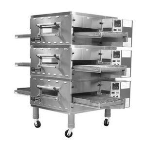 "Marshall ""Middleby Marshall PS536GS-3 36"""" Gas Triple Impingement Conveyor Oven - Liquid Propane"""