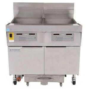 Frymaster FPLHD365 Gas Fryer - (3) 100 lb Vats, Floor Model, Liquid Propane