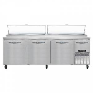 """Continental """"Continental PA93N 93"""""""" Pizza Prep Table w/ Refrigerated Base, 115v"""""""