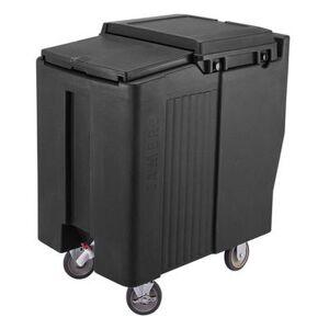 Cambro ICS175T110 175 lb Insulated Mobile Ice Caddy - Plastic, Black