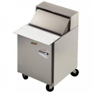 "Traulsen ""Traulsen UPT3212-R 32"""" Sandwich/Salad Prep Table w/ Refrigerated Base, 115v"""
