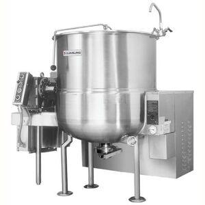 Cleveland HAMKGL100 100 gal Steam Kettle - Power Tilt, 2/3 Jacket, Liquid Propane