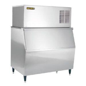 Kold-Draft GB561AC/KDB650 490 lb. Large Cube Ice Maker with Bin - 660 lb. Storage, Air Cooled, 115v