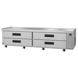 "Hoshizaki ""Hoshizaki CR98A SteelHeart 110 1/2"""" Chef Base w/ (4) Drawers, 115v"""