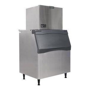 Scotsman C0630MW-32/B842S 633 lb Full Cube Ice Maker w/ Bin - 778 lb Storage, Water Cooled, 208-230v/1ph