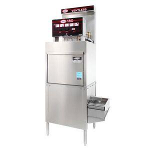 CMA Dishmachines CMA-180-VL-FL High Temp Door Type Dishwasher w/ 21 Racks/hr, 208v/3ph