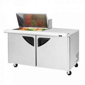 "Turbo Air ""Turbo Air TST-60SD-12M-N 60 3/8"""" Sandwich/Salad Prep Table w/ Refrigerated Base, 115v"""