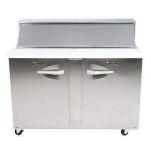 "Traulsen ""Traulsen UPT7212-LR-SB 72"""" Sandwich/Salad Prep Table w/ Refrigerated Base, 115v"""