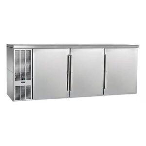 "Perlick ""Perlick PTS84 84"""" Bar Refrigerator - 3 Swinging Solid Doors, Stainless, 120v"""