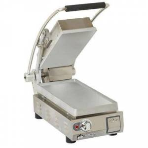 Star PST7 Single Commercial Panini Press w/ Aluminum Smooth Plates, 120v
