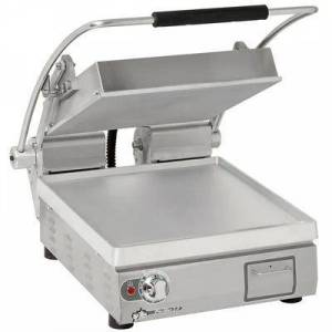 Star PST14 Single Commercial Panini Press w/ Aluminum Smooth Plates, 120v