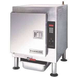 Cleveland 1SCE (5) Pan Convection Steamer - Countertop, Holding Capability, 208v/1ph