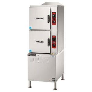 Vulcan C24ET6-LWE (6) Pan Convection Steamer - Cabinet, 208v/3ph