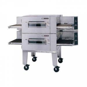 "Lincoln ""Lincoln 1600-2G 80"""" Impinger Low Profile Double Conveyor Oven, Liquid Propane"""