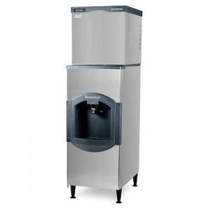 Scotsman C0630SA-32/HD30B-1 640 lb Half Cube Ice Maker w/ Ice Dispenser - 180 lb Storage, Bucket Fill, 208/230v/1ph