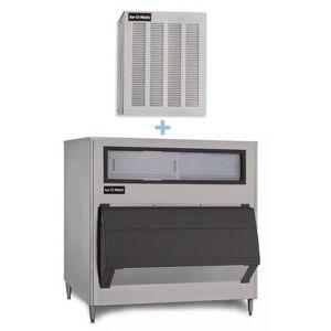 Ice-O-Matic MFI0800A/B1600-60 900 lb Flake Ice Maker w/ Bin - 1660 lb Storage, Air Cooled, 115v