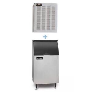Ice-O-Matic MFI1256A/B42PS 1149 lb Flake Ice Maker w/ Bin - 351 lb Storage, Air Cooled, 208-230v/1ph