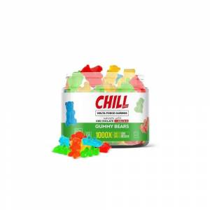 Chill Plus Delta 8 Delta Force Gummy Bears 500mg
