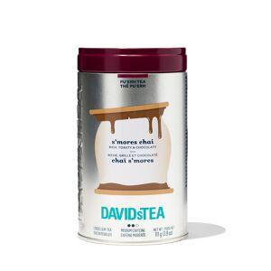DAVIDsTEA Pu'erh Tea S'mores Chai Iconic Tin