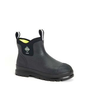 The Original Muck Boot Company Men's Chore Classic Chelsea in Black   100% Waterproof   7   Neoprene   The Original Muck Boot Company