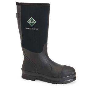 The Original Muck Boot Company Men's Chore Classic Steel Toe Wide Calf Boot in Black   11   Neoprene   The Original Muck Boot Company