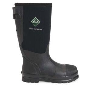 The Original Muck Boot Company Men's Chore Classic Steel Toe Wide Calf Boot in Black   10   Neoprene   The Original Muck Boot Company