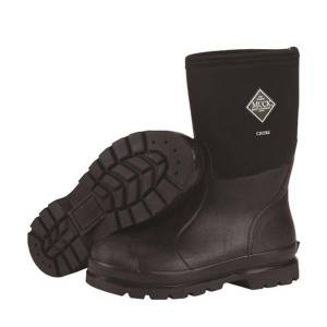 The Original Muck Boot Company Men's Chore Mid Boot in Black   13   Neoprene   The Original Muck Boot Company
