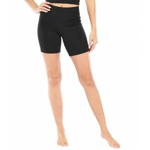 Electric Yoga Women's Gym Shorts - Black Large Spandex