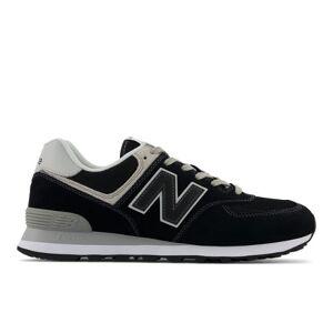 New Balance Men's 574 Core  - Black - Size: 4 2E