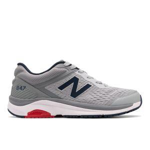New Balance Men's 847v4  - Silver/Grey - Size: 8 2E