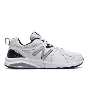 New Balance Men's 857v2  - White/Navy - Size: 6.5 4E