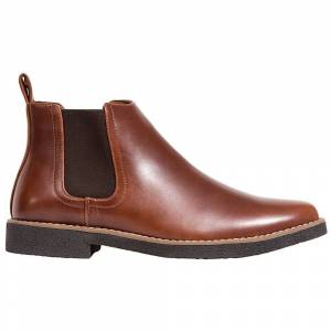 Deer Stags Rockland Chelsea Boots  - Black - Men - Size: 13 2E